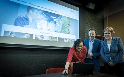 foto lancering kenniscentrum