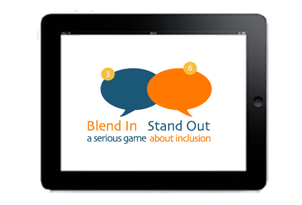 Logo Blend In Stand Out
