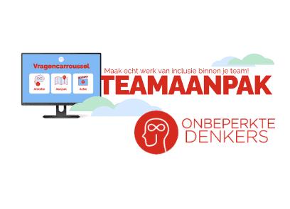 Onbeperkte Denkers Vragencarroussel Teamaanpak: maak echt werk van inclusie binnen je team!